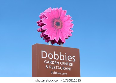 London, England / UK - May 9th 2020: Dobbies garden centre opens following coronavirus lockdown restrictions ease