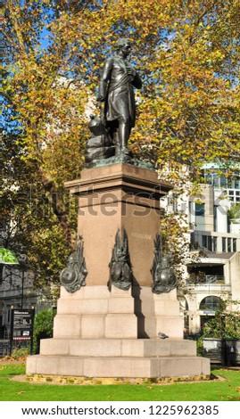 London Englanduk November 3 2018 Statue Stock Photo Edit Now