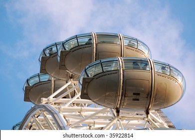 London Eye cabins detail