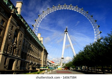 London Eye from a distance