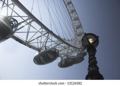 London Eye in summer