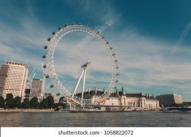 London Eye, London, United Kingdom.