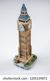 The London famous Big Ben / Bigben replica model.