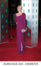 LONDON - FEB 12, 2017: J.K. Rowling attends The EE British Academy Film Awards (BAFTA) at the Royal Albert Hall
