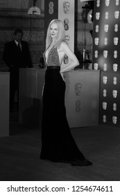 LONDON - FEB 12, 2017:  Nicole Kidman attends The EE British Academy Film Awards (BAFTA) at the Royal Albert Hall
