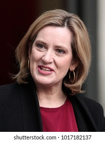 LONDON - FEB 4, 2018: Amber Rudd