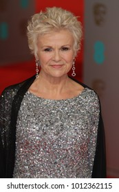 LONDON - FEB 8, 2015: Julie Walters attends the EE British Academy Film Awards at The Royal Opera House in London