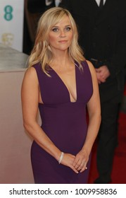 LONDON - FEB 8, 2015: Reese Witherspoon attends the EE British Academy Film Awards at The Royal Opera House in London
