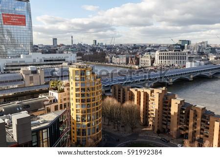 london february 24 bankside lofts apartment stock photo edit now