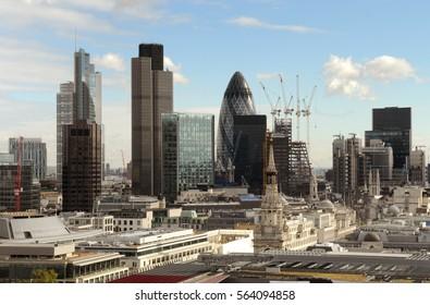 London, financial district