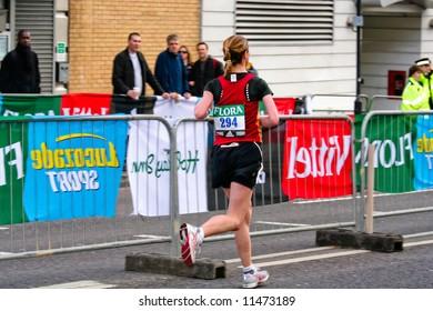 London Flora Marathon 2008