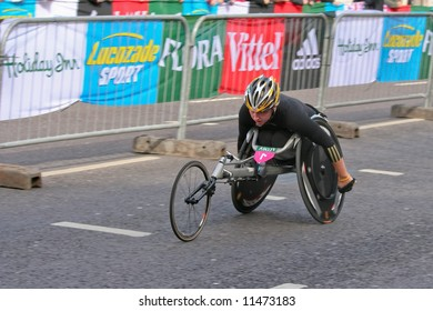 London Flora Marathon 2008 - Wheelchair race