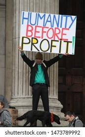 LONDON, GREAT BRITAIN - November 11 2011: Occupy London movement