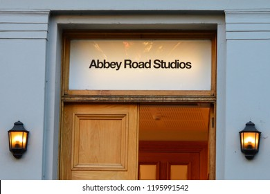 London, GREAT BRITAIN on September 26, 2018 : Abbey Road Studios.
