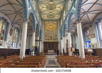 LONDON, GREAT BRITAIN - SEPTEMBER 14, 2017: The church St. Catharine Cree.