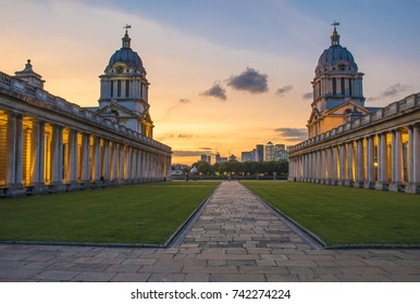 London - Greenwich - Old Naval College, England