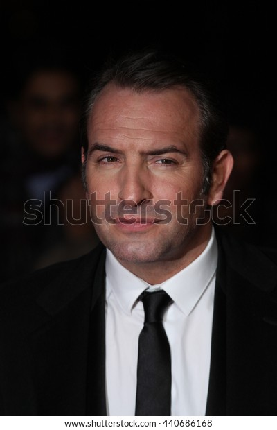 LONDON - JAN 19, 2012: Jean Dujardin arrives for the London Film Critics Circle Awards held at the BFI on Jan 19, 2012 in London