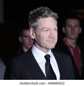 LONDON - JAN 19, 2012: Kenneth Branagh arrives for the London Film Critics Circle Awards held at the BFI on Jan 19, 2012 in London