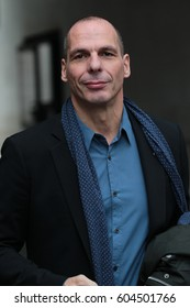LONDON - JAN 29, 2017: Yanis Varoufakis attends the BBC Andrew Marr Show at the BBC Studios on Jan 29, 2017 in London