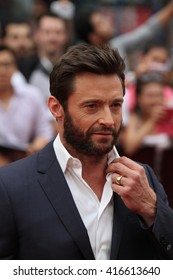 LONDON - JUL 16, 2013: Hugh Jackman attends the UK film premiere of The Wolverine at The Empire Cinema on Jul 16, 2013 in London