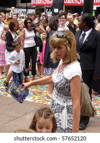 LONDON - JULY 18: Kate Garraway at Toy Story 3 Premiere July 18, 2010 in Leicester Square London, England.