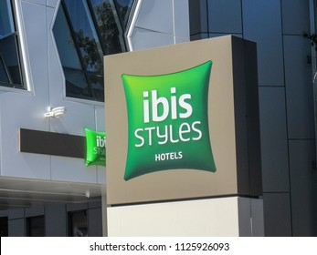 LONDON- JULY, 2018: Ibis Styles Hotel in Ealing, west London- a large hotel chain owned by AccorHotels