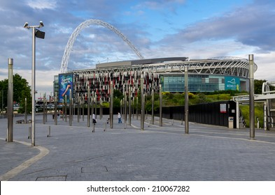 LONDON - JUly 5 : Wembley Stadium, London on July 05, 2014.