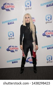 LONDON - JUN 08, 2019: Ava Max attends the Capital FM Summertime Ball in London
