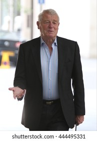 LONDON - JUN 11, 2014: Paddy Ashdown attends the BBC Andrew Marr show at the BBC studios  on Jun 11, 2014 in London