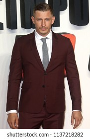 LONDON - JUN 13, 2018: Frederick Schmidt attends the UK Premiere of Mission: Impossible – Fallout held at the BFI IMAX