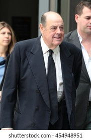 LONDON - JUN 19, 2016: Sir Nicholas Winston Soames seen at the BBC for the Andrew Marr show on Jun 19, 2016 in London