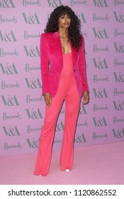 LONDON - JUN 20, 2018: Ciara attends the V&A Summer Party at The V&A