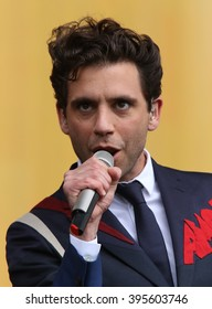 LONDON - JUN 21, 2015: MIKA on stage at the British Summer Time concert Hyde Park on Jun 21, 2015 in London