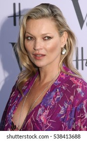 LONDON - JUN 22, 2016: Kate Moss attends the Victoria and Albert Museum Summer Party on Jun 22, 2016 in London