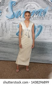 LONDON - JUN 25, 2019: Adwoa Aboah attends the Serpentine Gallery Summer Party, Kensington Gardens