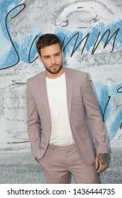 LONDON - JUN 25, 2019: Liam Payne attends the Serpentine Gallery Summer Party, Kensington Gardens