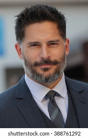 LONDON - JUN 30, 2015: Joe Manganiello attends the Magic Mike: XXL - UK film premiere, Leicester Square on Jun 30, 2015 in London
