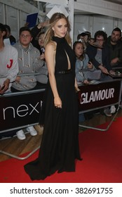 LONDON - JUNE 2, 2015: Suki Waterhouse attends The Glamour Women of the Year Awards at Berkeley Square Gardens on Jun 2, 2015 in London