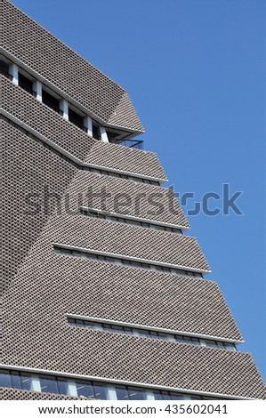 LONDON JUNE 6 2016 Angular Perforated Stock Photo (Edit Now