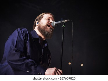 LONDON - MARCH 09: John Grant performs at Roundhouse Camden on March 09, 2014 in London.