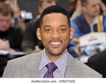 LONDON - MAY 16: Will Smith attends the huge premiere of 'Men In Black 3' in Leicester Square on May 16th, 2012 in London.