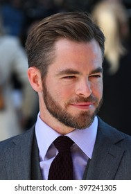 LONDON - MAY 2, 2013: Chris Pine attends the UK Premiere of Star Trek Into Darkness at The Empire Cinema on May 2, 2013 in London