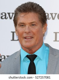 LONDON - MAY 20, 2015: David Hasselhoff attends the Hoff The Record - special screening at Empire Cinema Leicester Square on May 20, 2015 in London.