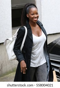 LONDON - MAY 20, 2015: Jamelia seen at the ITV studios on May 20, 2015 in London