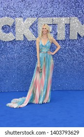 LONDON - MAY 20, 2019: Claudia Schiffer attends the Rocketman film premiere