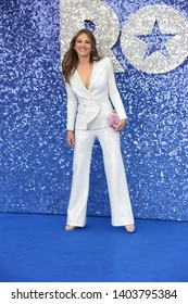 LONDON - MAY 20, 2019: Elizabeth Hurley attends the Rocketman film premiere