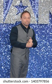 LONDON - MAY 20, 2019: Stephen Graham attends the Rocketman film premiere