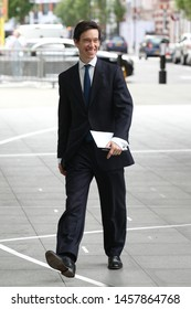 LONDON - MAY 26, 2019: Rory StewartSecretary of State for International Development  seen at the BBC studios in London