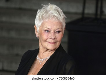 LONDON - NOV 02, 2017: Dame Judi Dench attends the Murder on the Orient Express film premiere