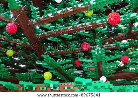 london nov 27 the worlds largest christmas tree made of lego using 600000 - Worlds Largest Christmas Tree